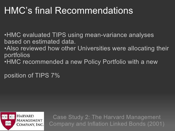 harvard management company case study solution Harvard management co--2001 case study solution, harvard management co--2001 case study analysis, subjects covered asset allocation investment management portfolio.