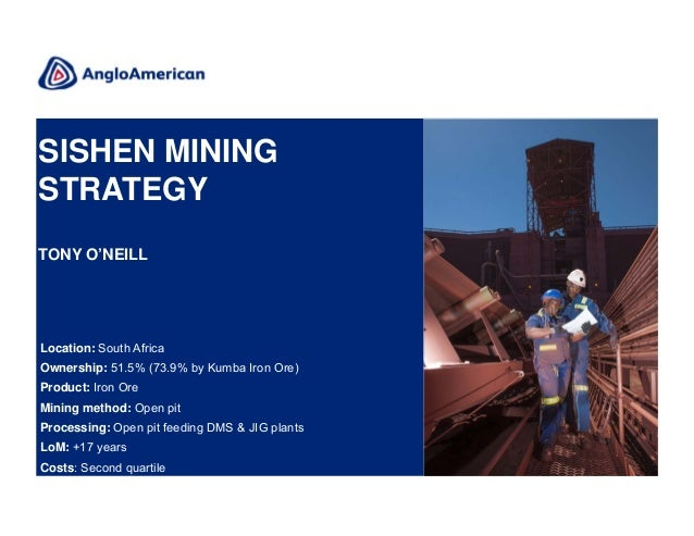 Tony supple anglo american mining
