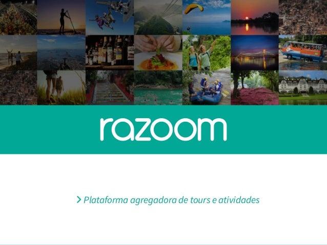 Plataforma agregadora de tours e atividades