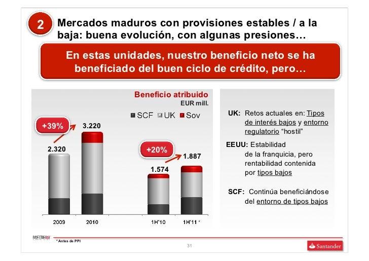 2     Mercados maduros con provisiones estables / a la      baja: buena evolución, con algunas presiones…           En est...