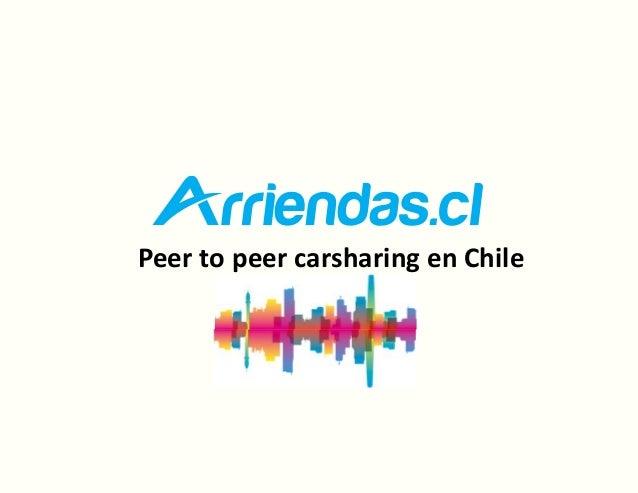 Peer to peer carsharing en Chile