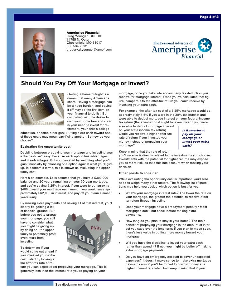Page 1 of 2                                    Ameriprise Financial                                 Greg Younger, CRPC®   ...