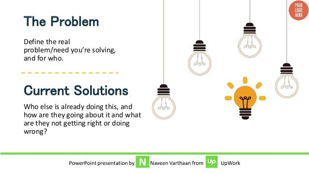 Investor pitch powerpoint template presentation insights 5 define the real problemneed toneelgroepblik Gallery