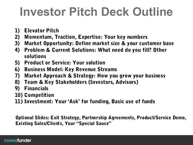 investor pitch deck template. Black Bedroom Furniture Sets. Home Design Ideas