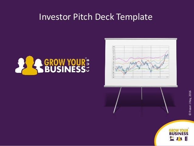 investor pitch deck template 2017. Black Bedroom Furniture Sets. Home Design Ideas