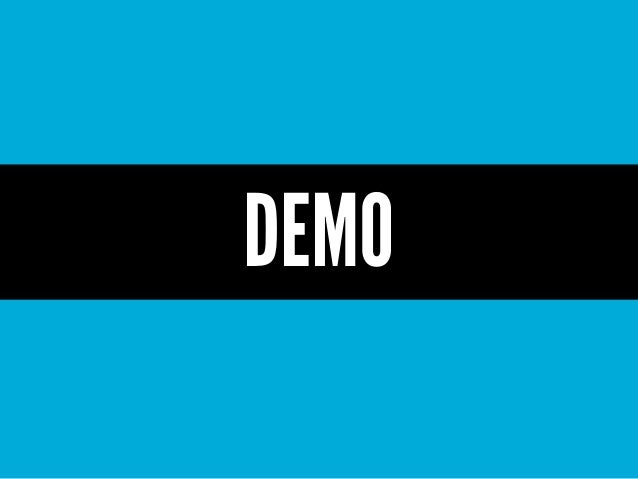 Demo Your Product