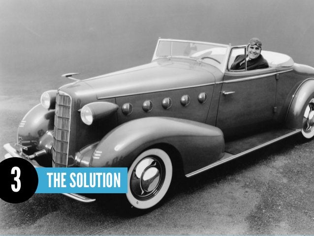 How do you solve the problem?            +                           =   Describe how your solution makes your customers h...