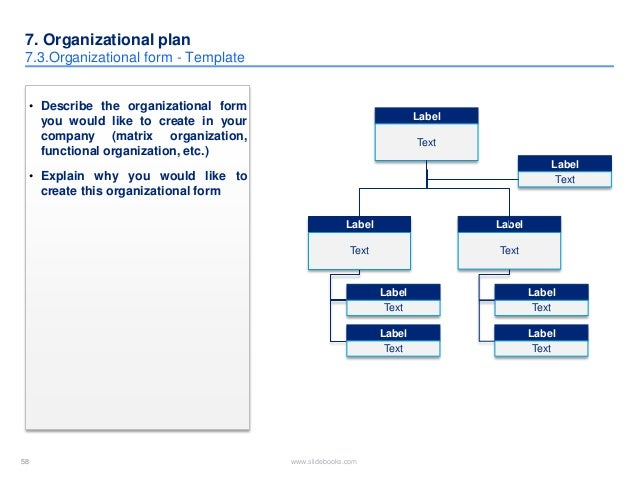 organizational plans essay
