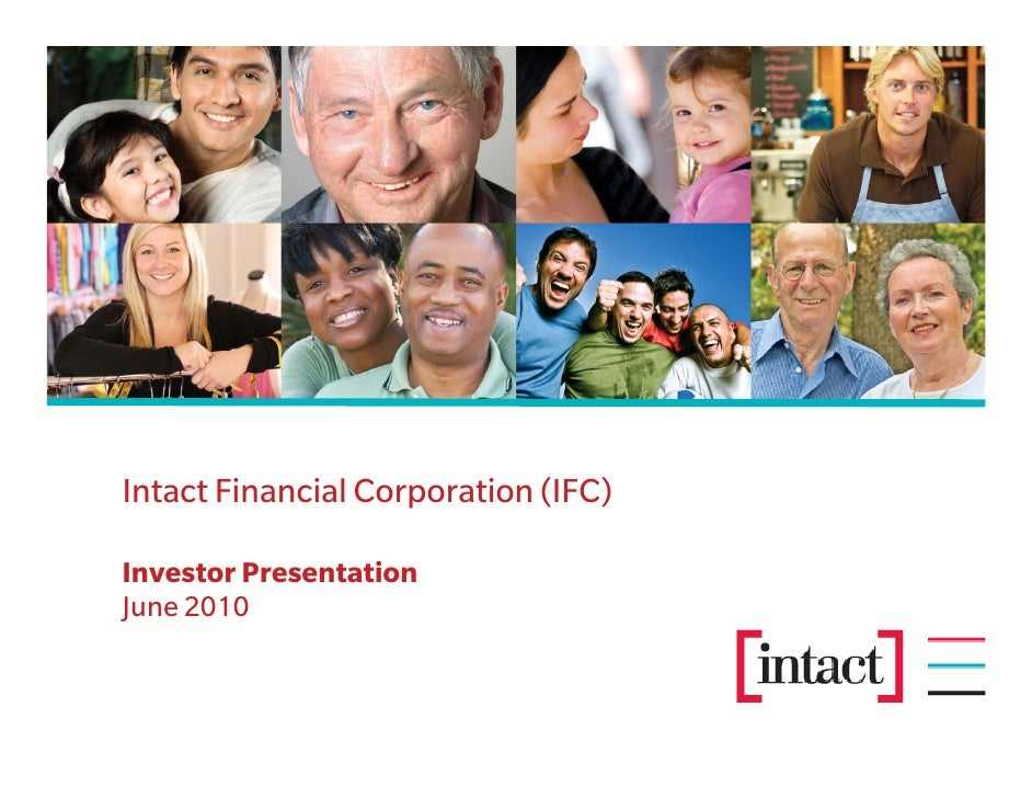 Intact Financial Corporation (IFC)  Investor Presentation June 2010