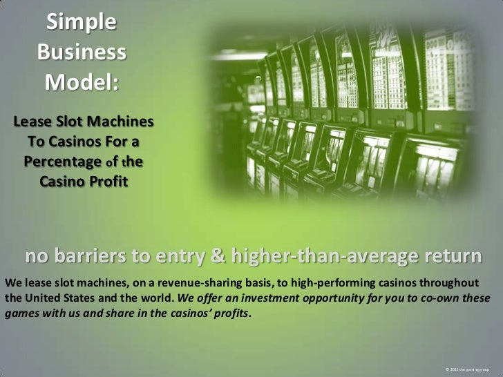 Business casino opportunity top paying slot machines in las vegas