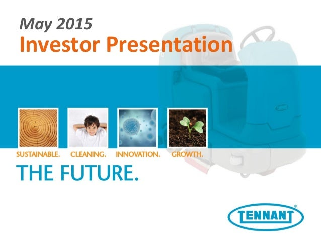 Current Investor Presentation – May 2015