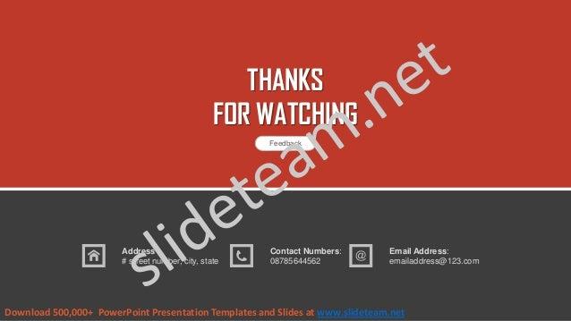 Investor presentation powerpoint