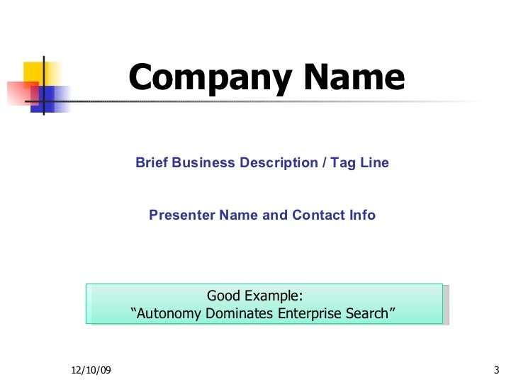 Investor Presentation Template - Sample name tag templates