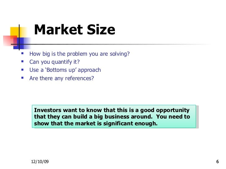 Investor presentation sample