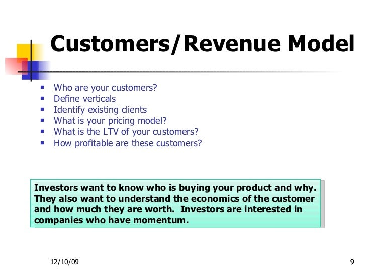 Investor Presentation Template