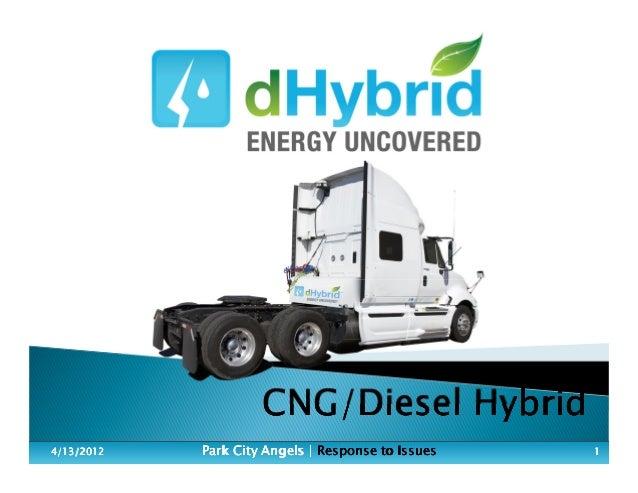CNG/Diesel HybridCNG/Diesel HybridCNG/Diesel HybridCNG/Diesel Hybrid 4/13/20124/13/20124/13/20124/13/2012 Park City Angels...