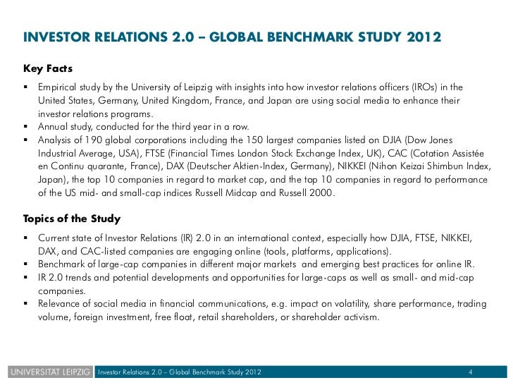 Global communications benchmarking essay