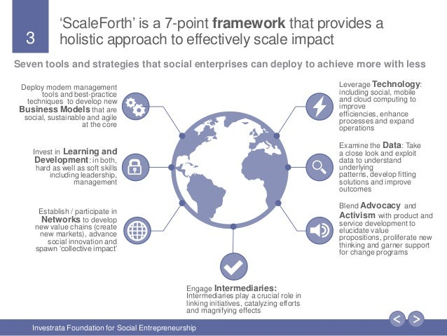ScaleForth - A Framework for Scaling Social Impact