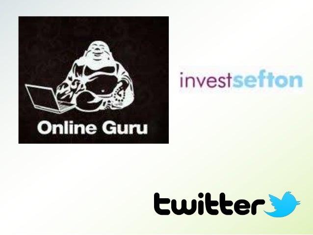 Who are we? Online Guru 6 years Team of 8 What do we do? Set up social media Train social media Manage social media Respon...