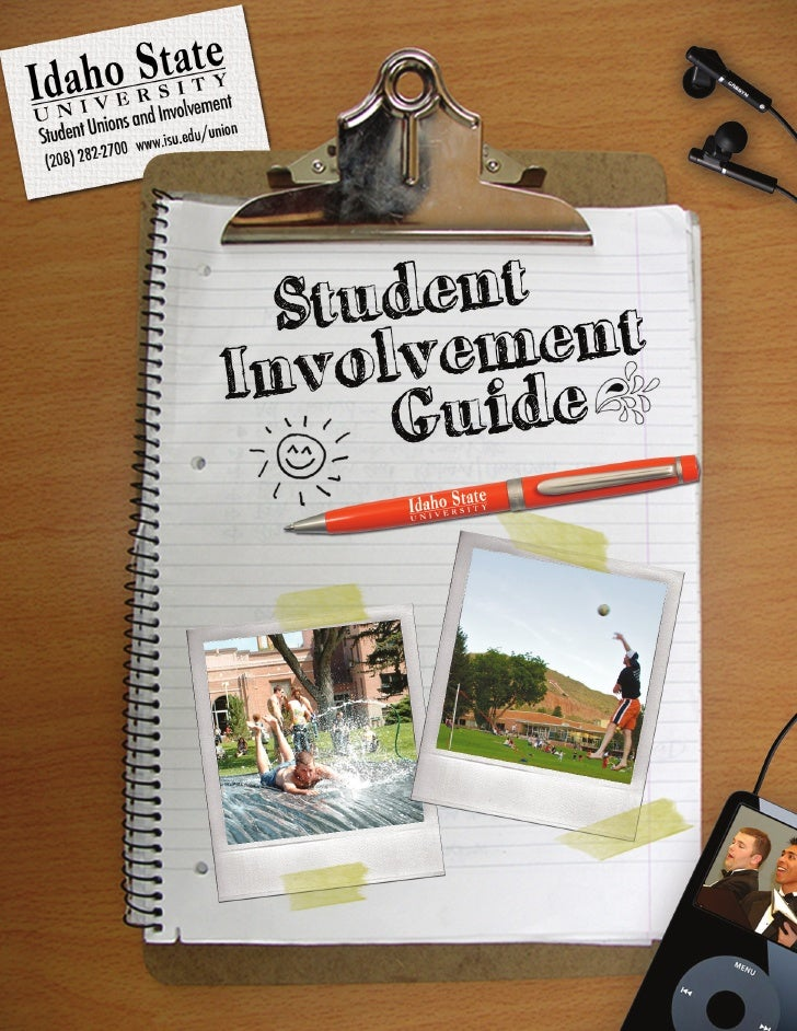 """Getting Involved at Idaho State!     WHAT DOES """"GET INVOLVED"""" MEAN? You might have heard it said that it is important for ..."""