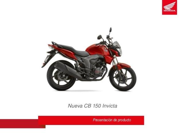 Nueva CB 150 Invicta Presentación de producto