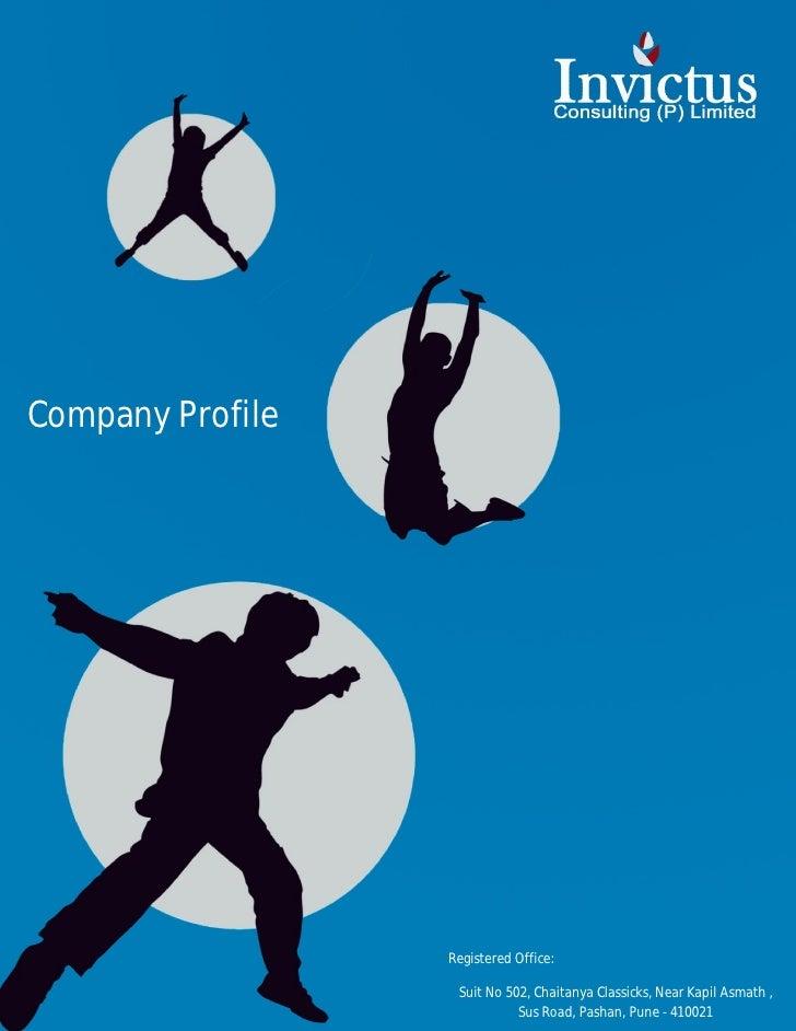 Company Profile                  Registered Office:                   Suit No 502, Chaitanya Classicks, Near Kapil Asmath ...
