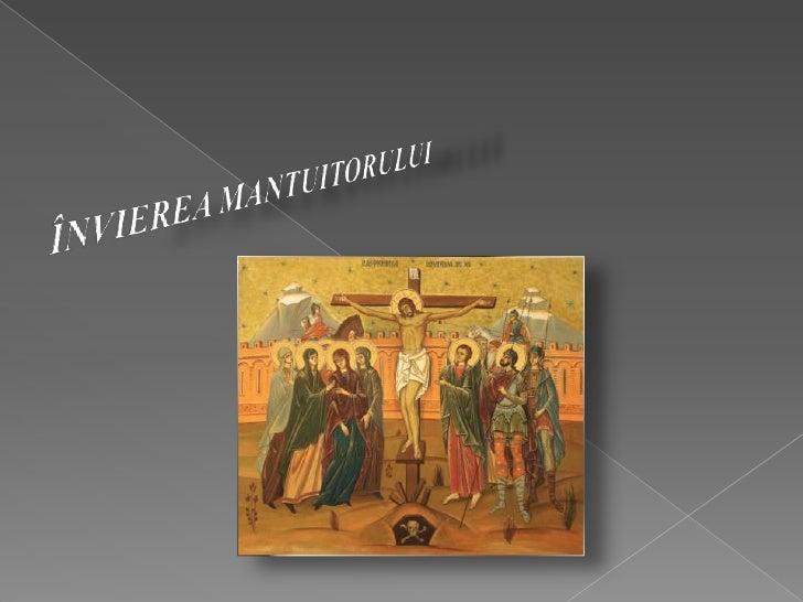 Invierea Domnului - Iubirea care invinge moarteaSfanta si Marea Sambata este zi de meditatie, rugaciune sireculegere, deoa...
