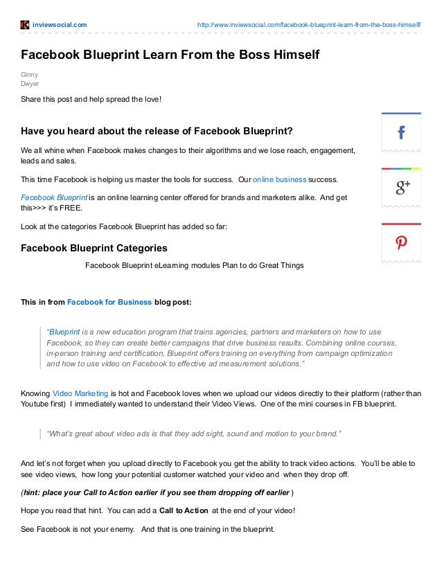 Facebook blueprint have you heard about the release of facebook blue inviewsocial httpinviewsocialfacebook blueprint malvernweather Choice Image