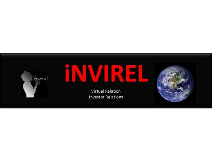 iNVIREL   Virtual Relation  Investor Relations