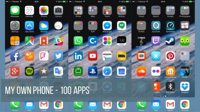 My Own Phone - 100 Apps
