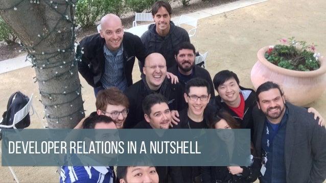 Developer Relations in a Nutshell