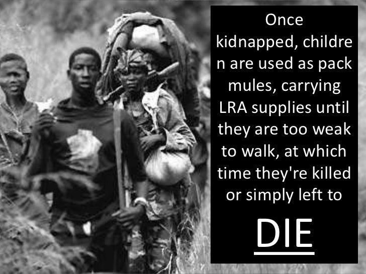 invisible children uganda child soldiers