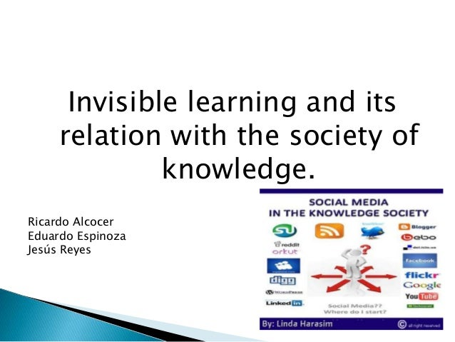 Dealing With Invisible Learning >> Invisible Learning