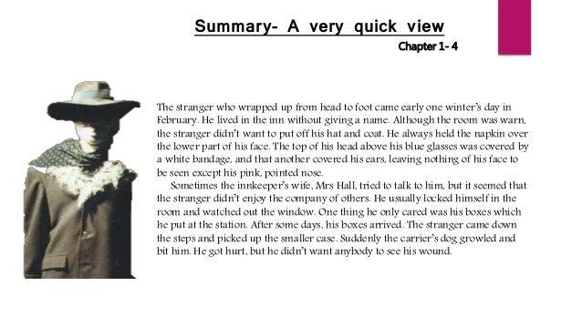 Summary of novel the invisible man