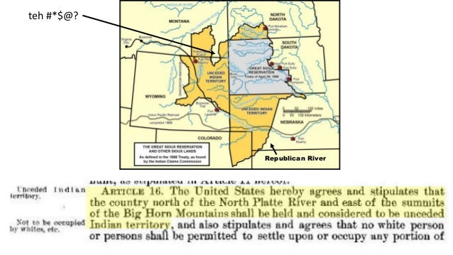 Invisible nation: Mapping Sioux treaty boundaries