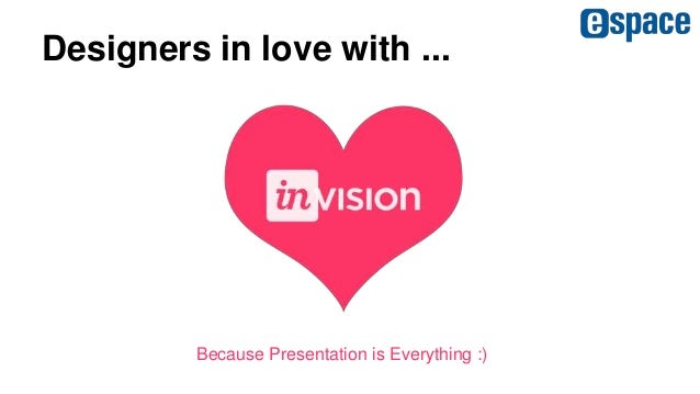 Designers in love with ... Because Presentation is Everything :)
