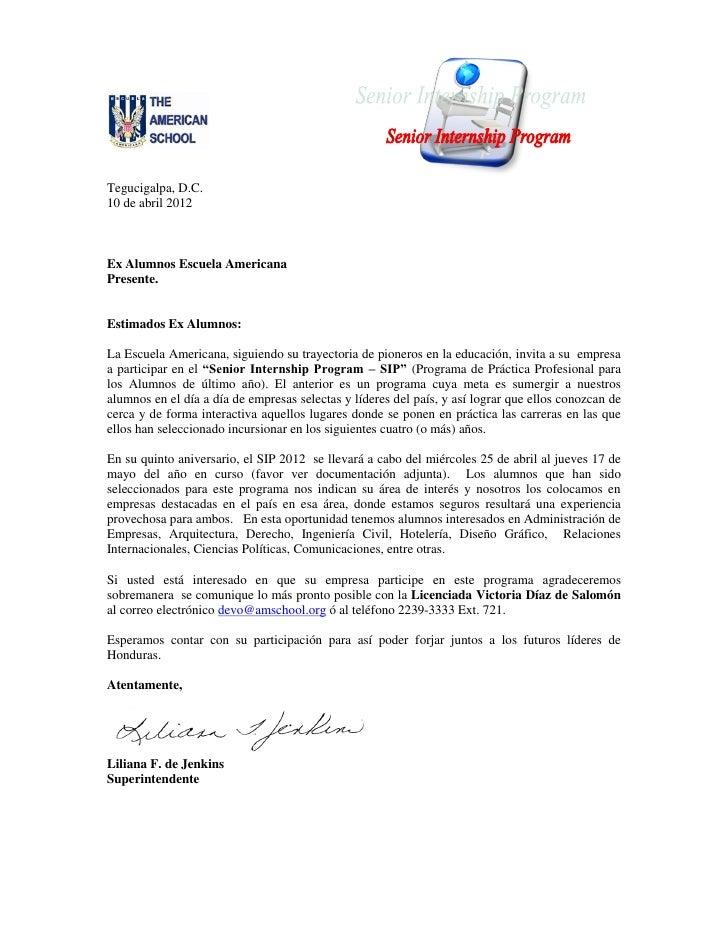 Tegucigalpa, D.C.10 de abril 2012Ex Alumnos Escuela AmericanaPresente.Estimados Ex Alumnos:La Escuela Americana, siguiendo...