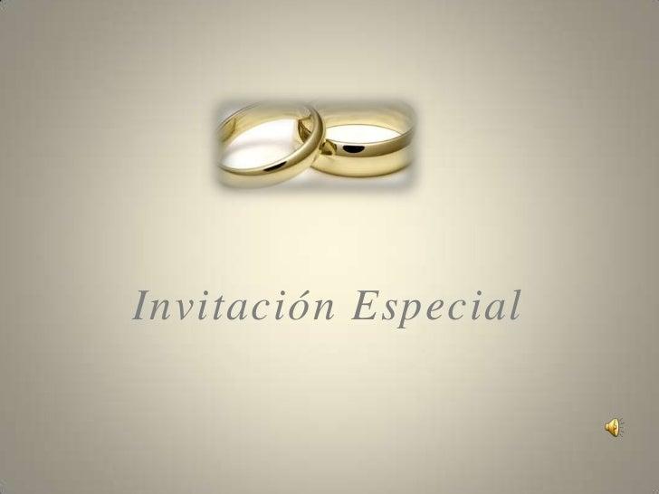 Invitación Bodas De Oro Con Audio