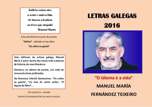 """Esta estrofa forma parte do poema """"Galicia"""" editado no seu libro: """"Os soños na gaiola"""" Equipo de Dinamización da Lingua Ga..."""