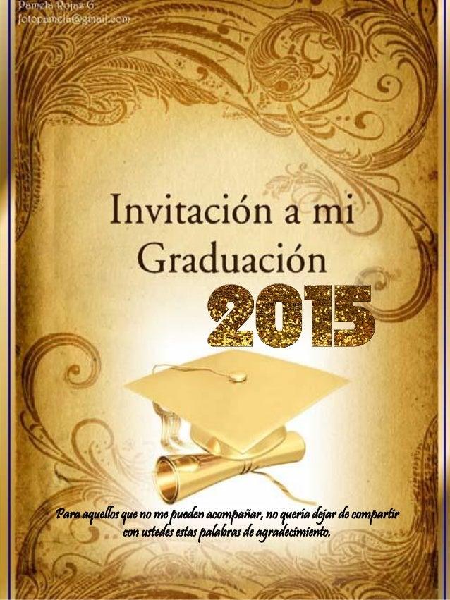 Invitacion A La Graduacion Luis F Navas2