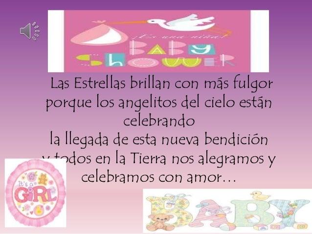 Invitacion Baby Shower Valentina. Las Estrellas Brillan Con Más Fulgor  Porque Los Angelitos Del Cielo Están Celebrando La Llegada De ...