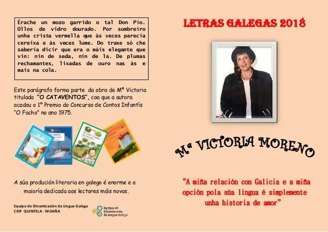 """Este parágrafo forma parte da obra de Mª Victoria titulada """"O CATAVENTOS"""", coa que a autora acadou o 1º Premio do Concurso..."""