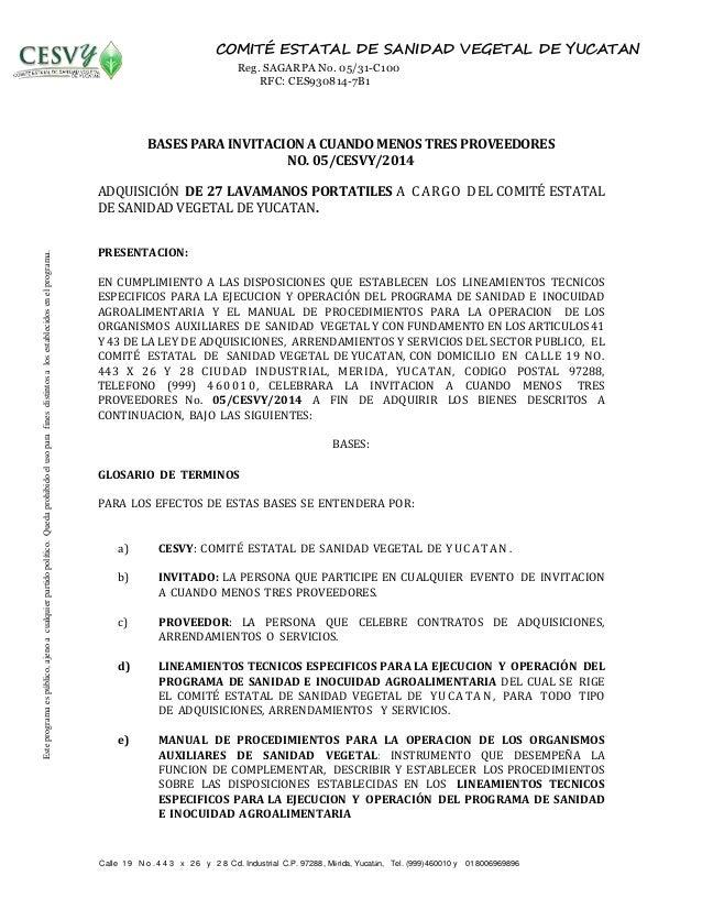 Calle 1 9 N o . 4 4 3 x 2 6 y 2 8 Cd. Industrial C.P. 97288, Mérida, Yucatán, Tel. (999)460010 y 018006969896 COMITÉ ESTAT...