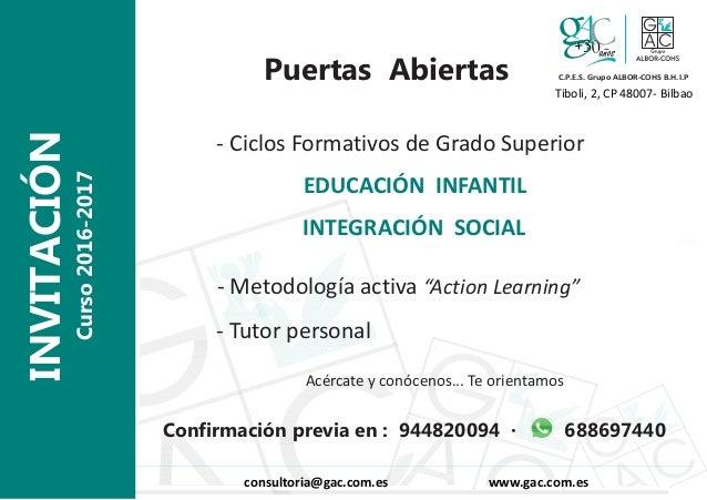 Invitacion Puertas Abiertas 2016