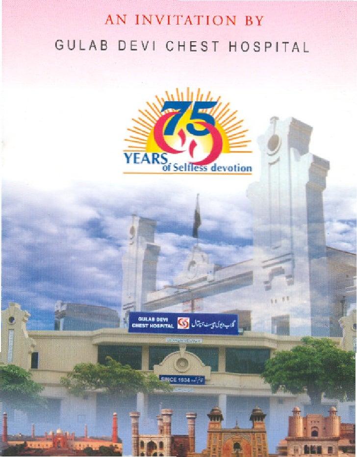 An Invitation By Gulab Devi Hospital