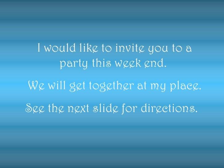 Invitation for 31 night party – 31 Party Invite