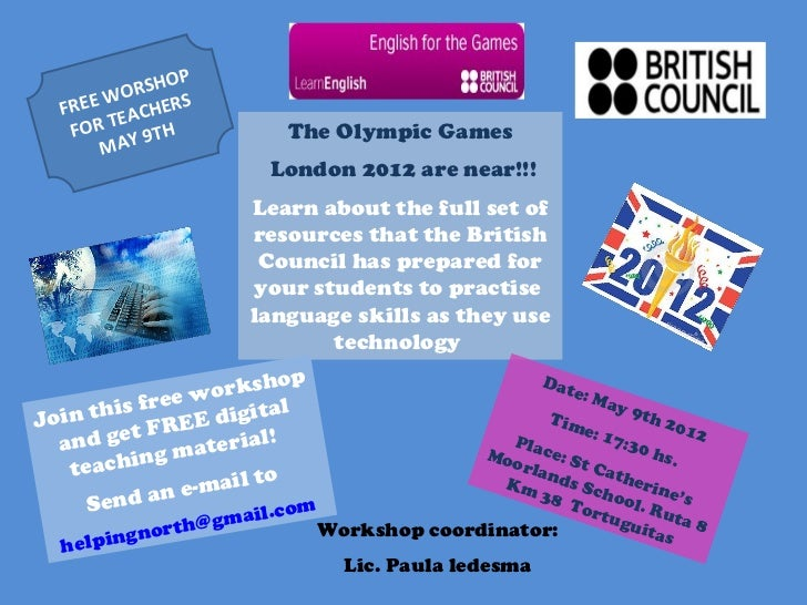 P      WO  RSHO  FREE EACHERS   FOR T Y 9TH            The Olympic Games      MA                        London 2012 are ne...