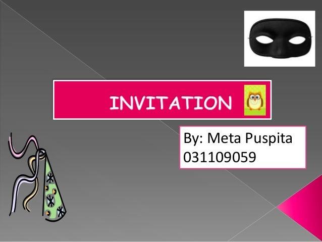 Invitation invitation by meta puspita031109059 stopboris Gallery