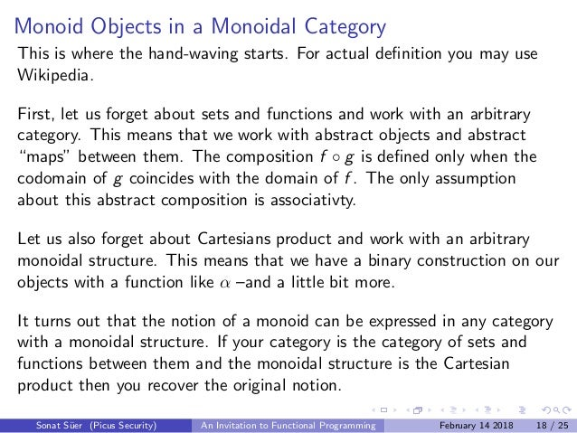 An Invitation to Functional Programming