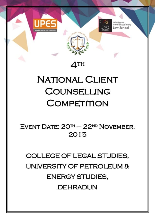 4th National Client Counselling Competition